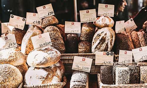 Beleuchtung für Brot und Backwaren