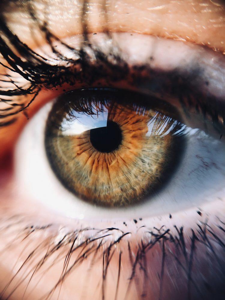 Blendung Auge