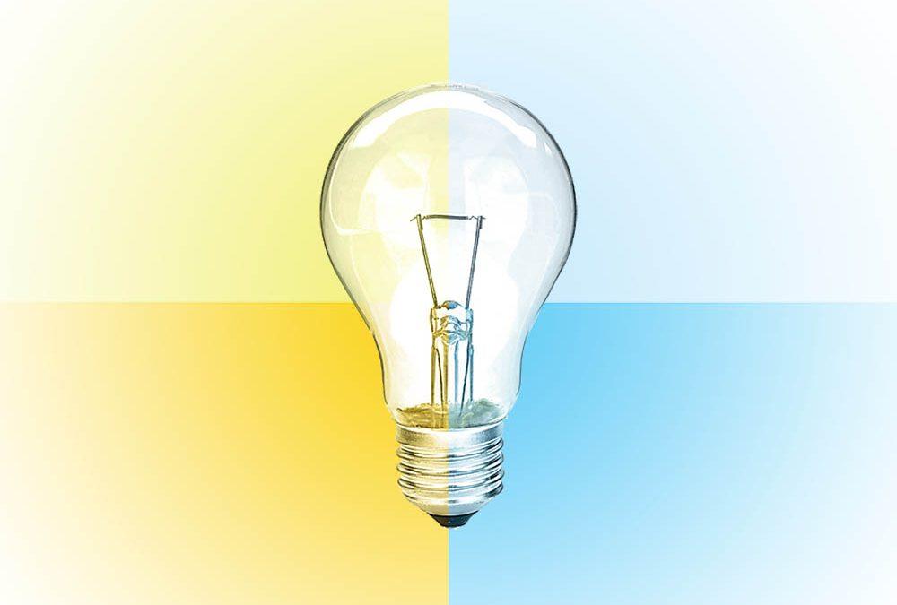 Lichtfarbe in Kelvin