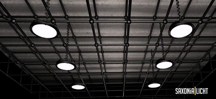 LED Hallenstrahler, LED Ufo, LED Highbay Light, LED Hallentiefstrahler, LED Hallenstrahler dimmbar, LED Industriestrahler, LED Industrieleuchte, LED Industriebeleuchtung, Hallenstrahler, LED Beleuchtung Gewerbe Industrie, LED Strahler, Industrie LED, LED Leuchten, LED Lampen, Industrie LED Deckenleuchte, Saxonia Licht Chemnitz
