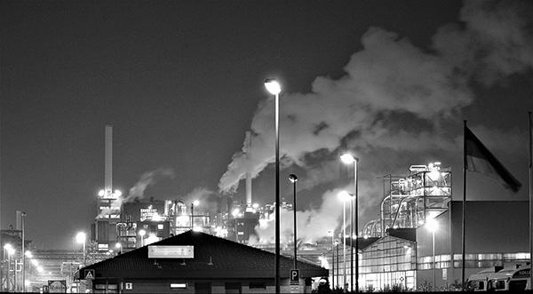 industrial light pollution