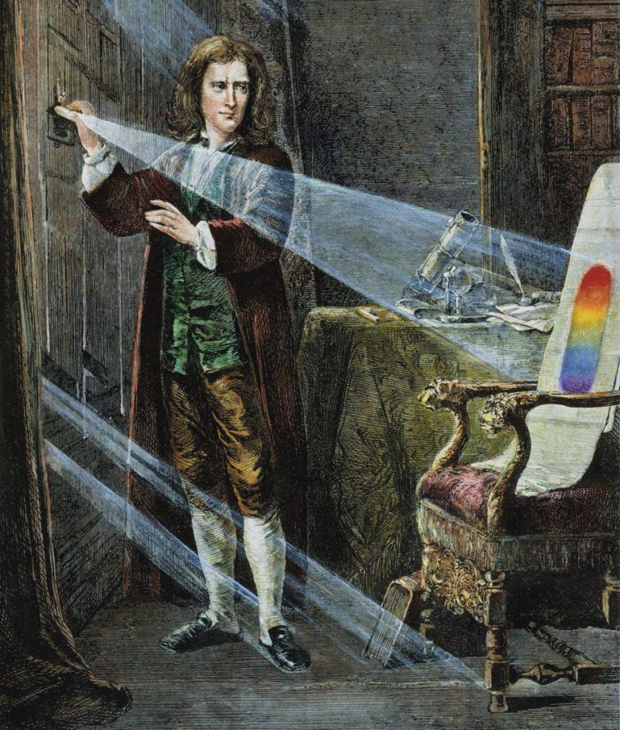 Newtons Entdeckung des Lichtspektrums