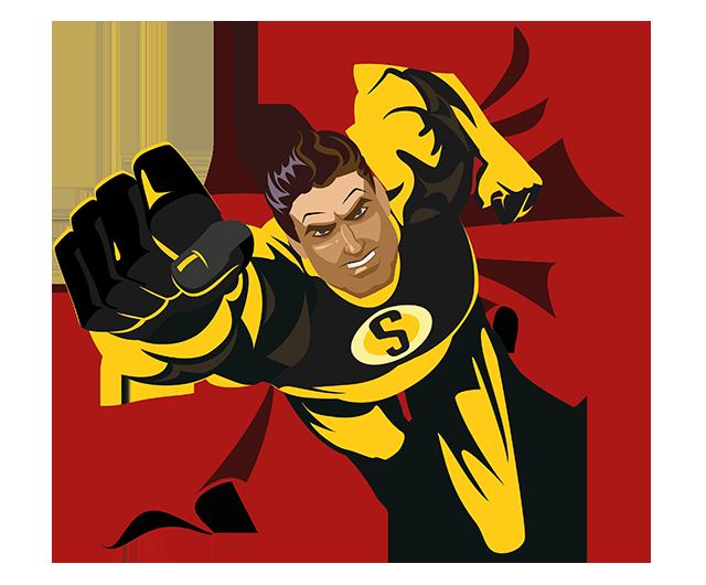 Superheld m/w/d