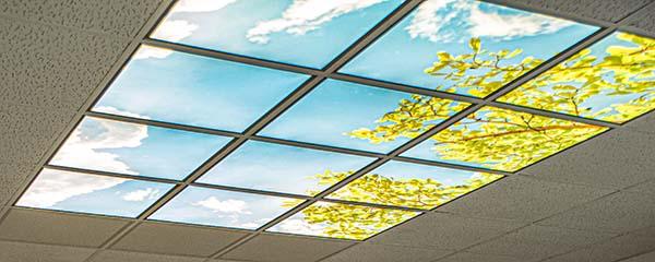 LED Panels mit Motiv